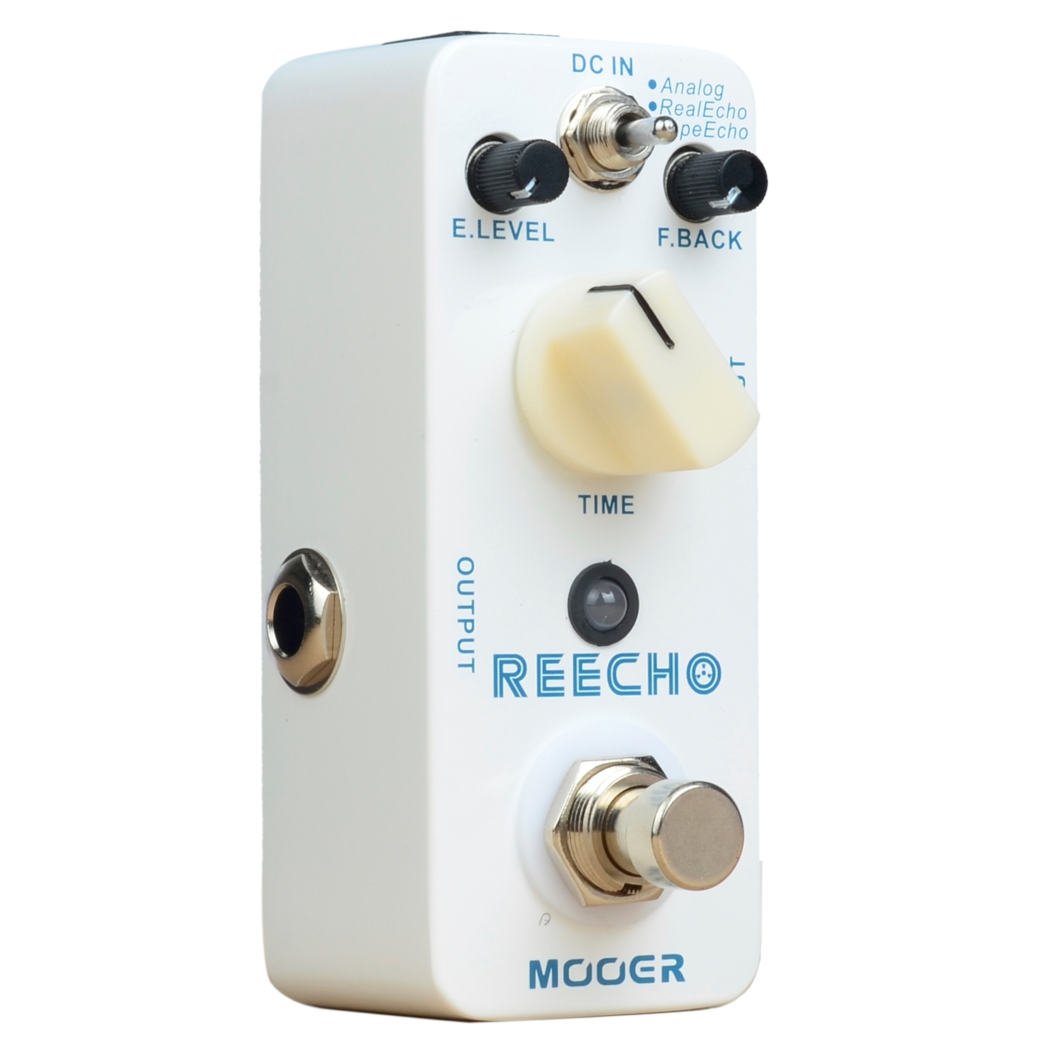 Mooer Reecho Delay Electric Guitar Pedal Effect Electric Bass True Bypass Effects Analog Real Echo Tape Echo free shipping new guitar effect pedal mooer ana echo analog delay pedal pedal true bypass