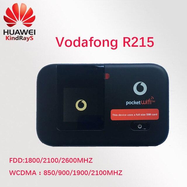 US $49 65 34% OFF unlock Huawei E5372 Vodafone R215 4G LTE wifi router 4g  mIFI lte 4g 3g Dongle pocket fdd pk r212 e5377 e5577 e5776 e5878 e589-in