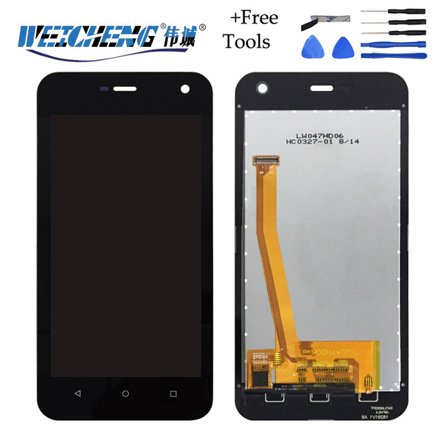 WEICHENG New for Myphone Hammer Active LCD Display + touch Screen Digitizer  For Hammer Active lcd phone display +free tools ef6172a3a74