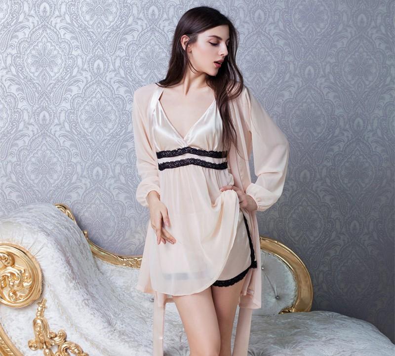 2017-new-lady-chiffon-harness-skirt-nightgown-two-piece-silk-silk-suit-silk-pajamas