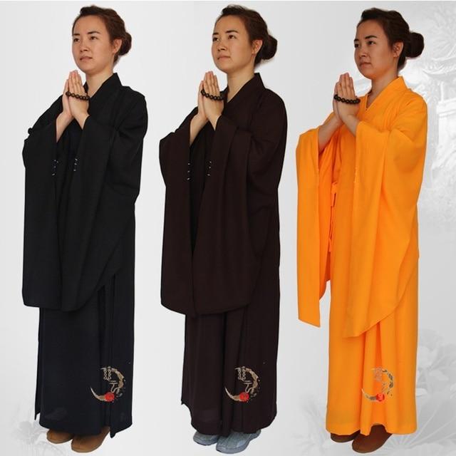 buddhist monk robes women buddhist clothing female meditation clothing buddhist robe shaolin monk clothing  AA878