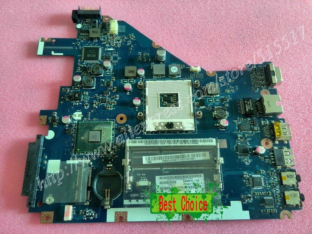Подробнее о Free Shipping For Acer Aspire 5742Z 5742 Motherboard PEW71 LA-6582P REV:1.0 Main Card for acer 5742 la 6582p laptop motherboard mbrjw02001 100