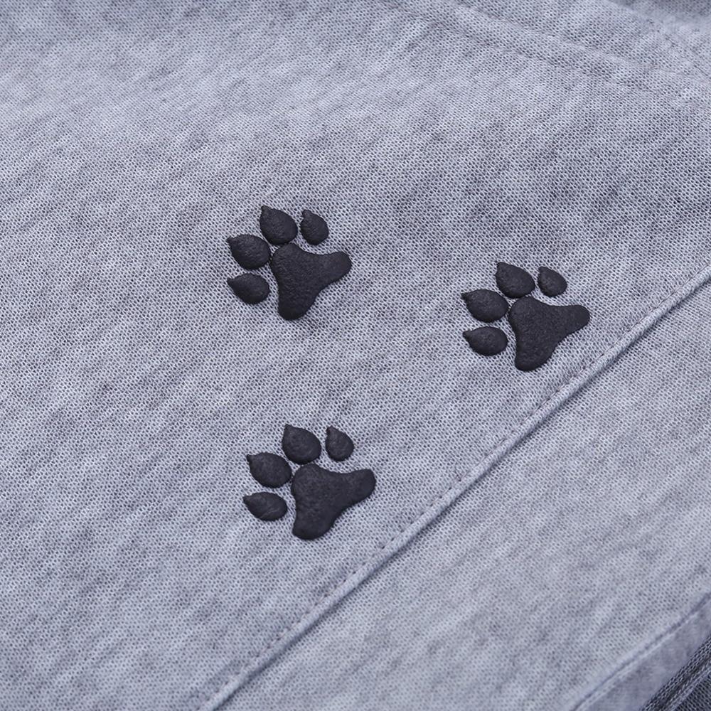 17 New Cartoon Hooded Hoodies Lover Cats Kangaroo Dog Hoodie Long Sleeve Sweatshirt Front Pocket Casual Animal Ear Hoodie 42