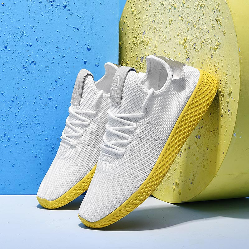 Summer Breathable Chaussure Homme Sport Shoes Mens Sneakers Men Running Shoes Sports White Basket Homme Krasovki Athletic A-204