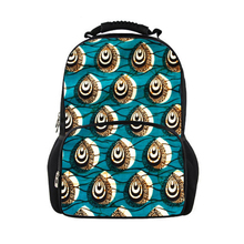 Kid's School Backpack with Traditional African Print