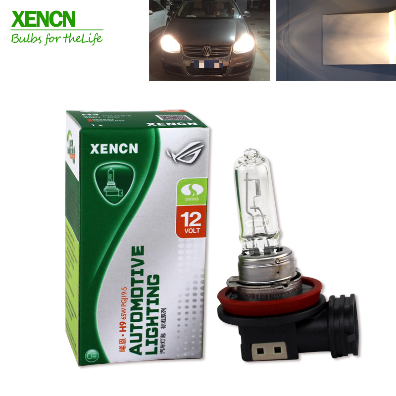 XENCN H9 12V 65W 3200K Clear Series Original Car Headlight High Quality Halogen Bulb Auto Fog Lamps Long Lifetime 2pcs xencn h7 px26d 12v 100w 3200k clear series off road standard car headlight halogen bulb uv quartz brand auto lamp for mazda cx 5