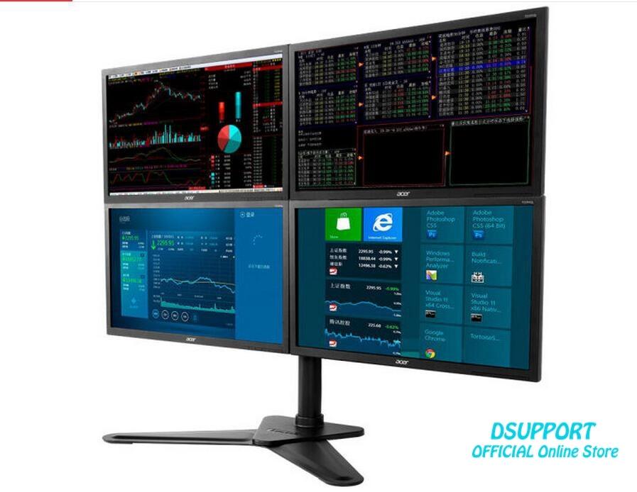 מסך מלא Motion 4 מסך צג מעמד שולחן עבודה - ציוד היקפי למחשב