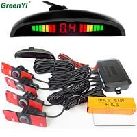 Original LED Display 13mm 6 Kinds Of Color Parking Sensor Monitoring With Reverse Radar System And