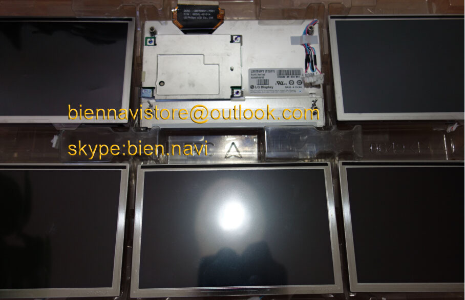 "100% new original 7.0"" LG DISPLAY LB070WV1, TD, 01/ LB070WV1-TD01 TD17 LCD module screen W204 GLK car DVD audio system"