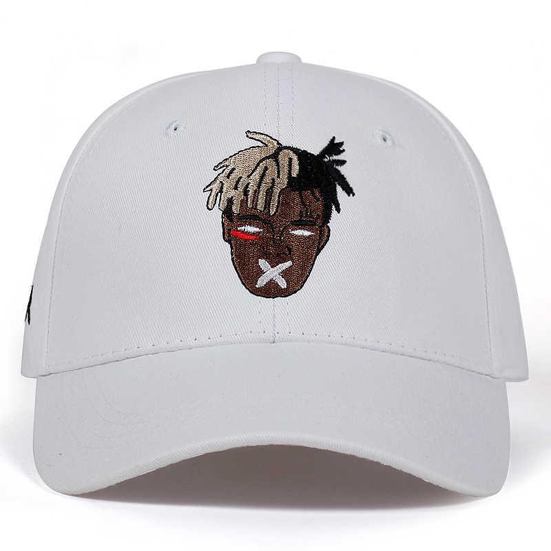 5 kleuren Katoen Zanger xxxtentacion Dreadlocks Snapback Cap Voor Mannen Vrouwen Hip Hop Vader Hoed Baseball Cap Bone Garros