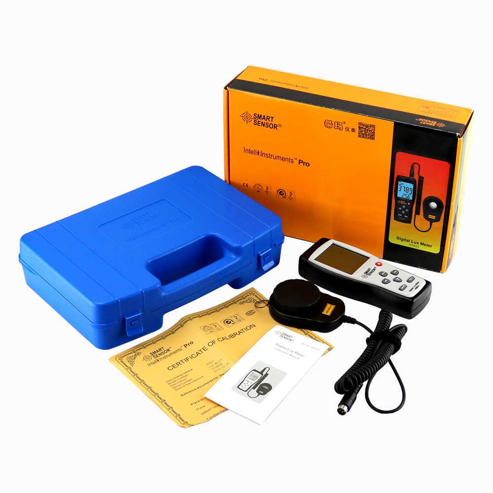Digital Luxmeter, Digital Lux, fotómetro, iluminómetro, espectrofotómetro, alta precisión, medidor de luz 200,000lux
