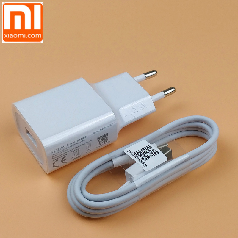 Us 382 11 Offoriginal Xiaomi Mi A2 Lite Charger 5v2a Eu Wall Power Adapter For Redmi 6 5 6a 5a 4a Note 5 Pro 3 6 4x S2 4 Micro Usb Cable In