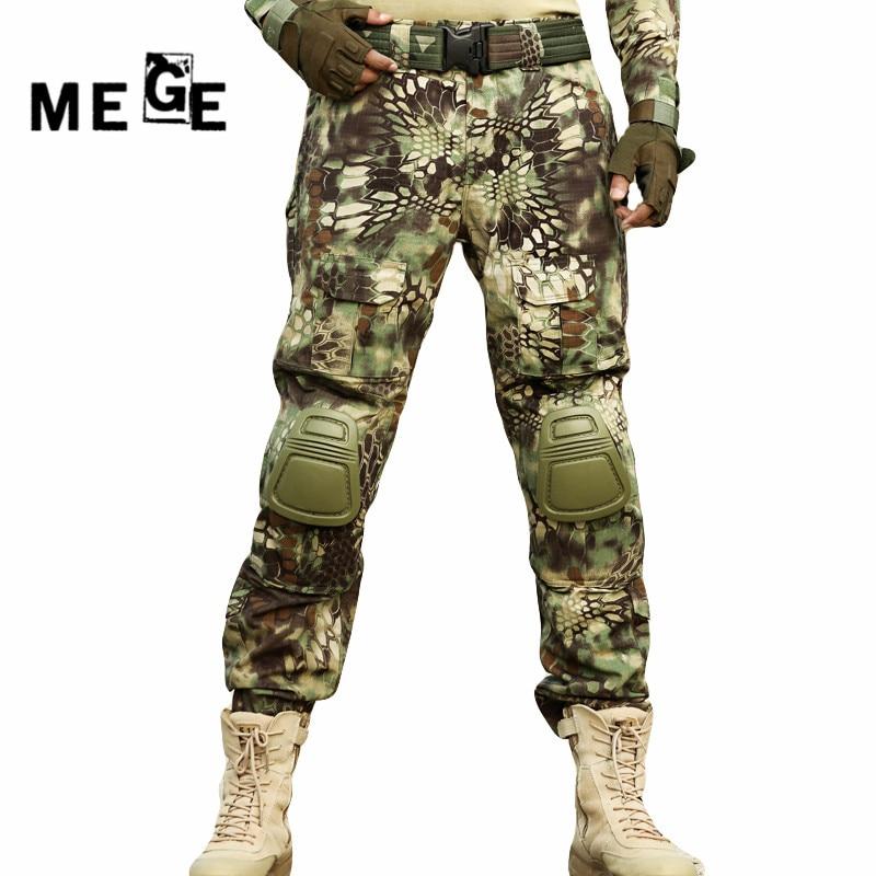 MGEG Militar Tactical Pants, Men Outdoor Combat SWAT Ghillie Pants, ACU Multicam Typhon Army Rapid Assault Pants With Knee Pads mgeg militar tactical cargo pants men combat swat trainning ghillie pants multicam army rapid assault pants with knee pads
