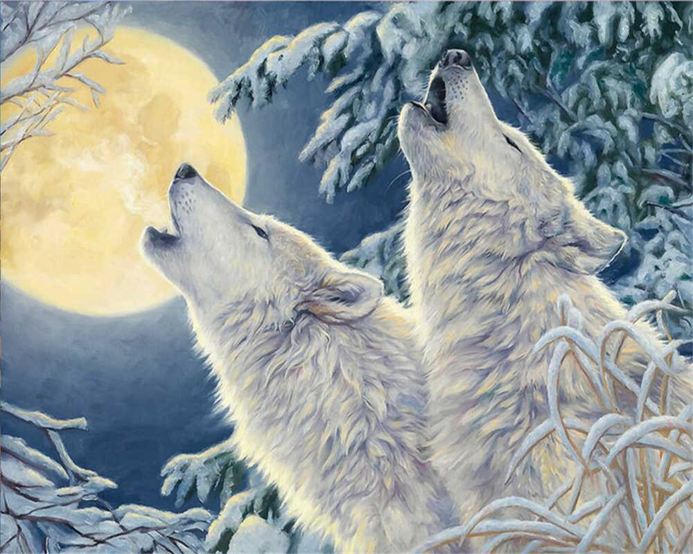Картинки, открытки и картинки с волками