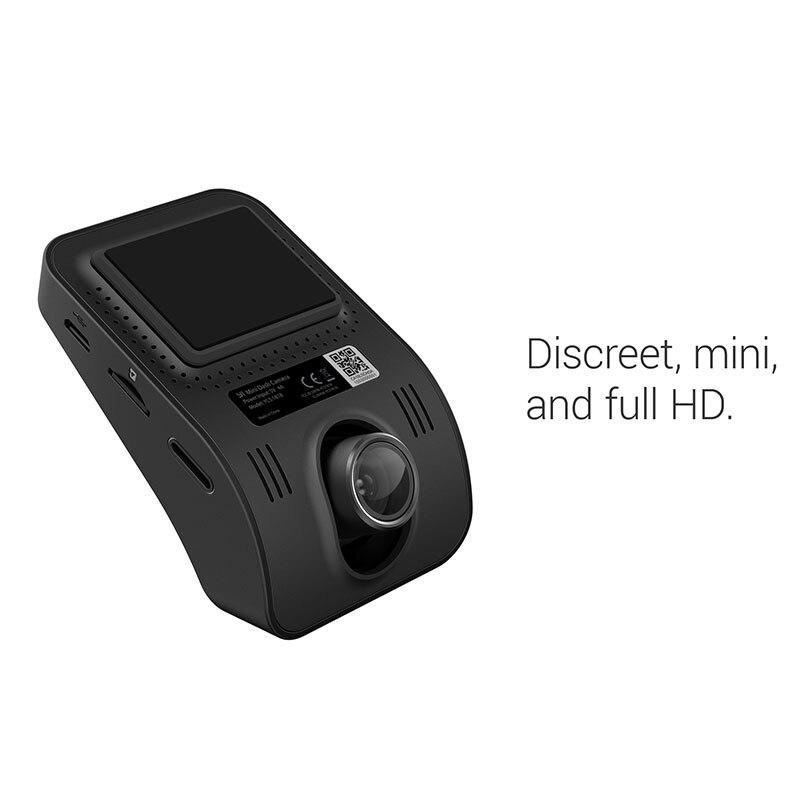 YI Mini Dash Camera Full HD 1080P Video Car DVR WiFi Recorder International Version 30fps Discreet
