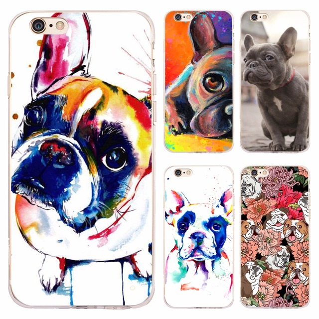 coque iphone 8 plus bouledogue francais