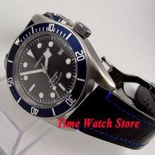 c41502d5749 41mm relógio resistência à água 20ATM Corgeut aro de prata mãos MIYOTA  vidro de safira relógio Dos Homens movimento Automático P..