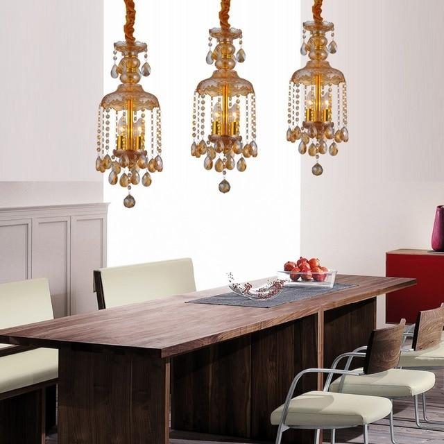 Nieuwe chrismas crystal led hanglamp voor eetkamer decoreren ideeën ...