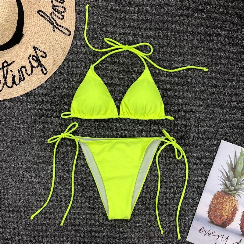 Triangle Thong Bikini 25
