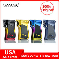 Original SMOK MAG 225W TC Mod box 225w Output VW/TC and MEMORY Mode Gun handle Electronic cigarette Vape Mod Box