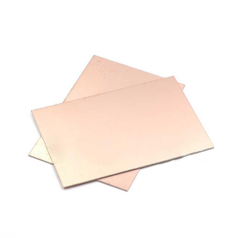5 pièces 10*15cm Fiber de verre PCB conseil simple face cuivre plaqué plaque bricolage PCB Kit stratifié Circuit imprimé Fiber de verre panneau universel