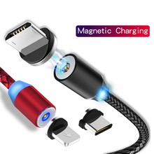 Magnetic USB Charger Cable for Iphone Lighting Magnet Charging Cable USB Type C Micro USB Adapter Charging Cable Data Wire Cord snap 01 magnetic usb cable charging adapter for iphone