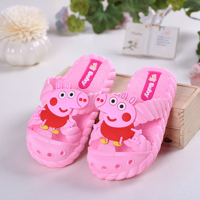 baby kids girl sandals shoes rubber jelly lovely pig summer girl Breathable slides gift for kids