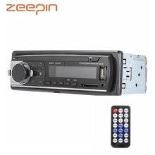 Bluetooth Auto MP3 Lettore Audio Stereo 4X60 W Auto Radio 12 V In-dash 1 Din FM aux del Ricevitore di Ingresso USB SD card Auto Radio Gioco di Musica