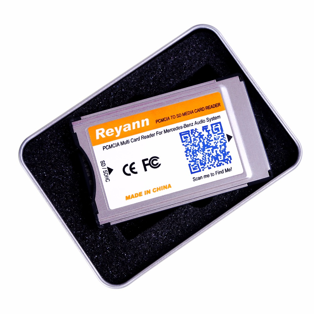 Reyann sd to pcmcia card reader adapter for mercedes benz for Pcmcia card for mercedes benz