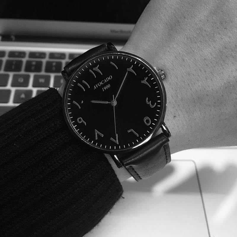 2019 new luxury watch Quartz Wristwatches mens womens fashion Reloj masculino Black man