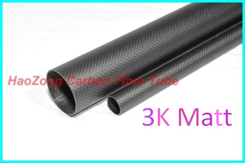 4 pcs 29MM OD X 27MM ID X 500MM Carbon fiber tube/tubing/tail tube/wing tube Quadcopter RC Airplane 29*27 30mm od x 25mm id carbon fiber tube 3k 500mm long with 100% full carbon quadcopter hexacopter model diy 30 25 500