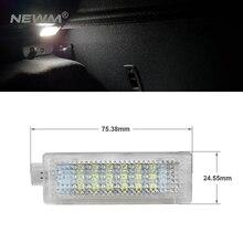 2 шт. ошибок светодиодный вежливость Footwell под дверью светильник для BMW E60 E87 E70 E90 E92 E63 E65 E85 M3 мини Z4 R50 R52 R53