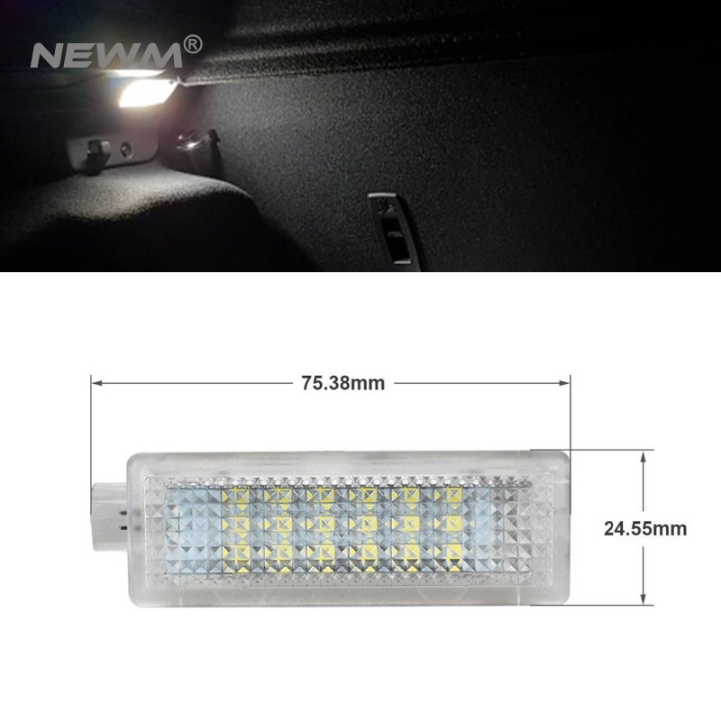 2Pcs Error Free LED Courtesy Footwell Under Door Light For BMW E60 E87 E70 E90 E92 E63 E65 E85 M3 MINI Z4 R50 R52 R532Pcs Error Free LED Courtesy Footwell Under Door Light For BMW E60 E87 E70 E90 E92 E63 E65 E85 M3 MINI Z4 R50 R52 R53