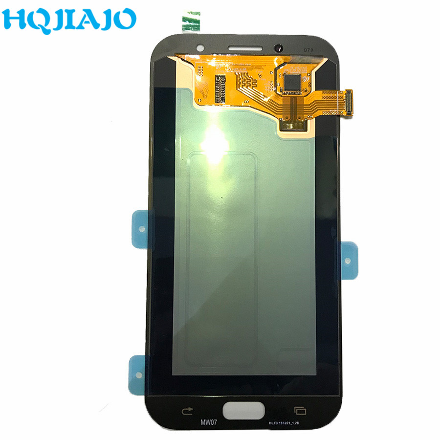 10 Piece/lot <font><b>LCD</b></font> Screen For <font><b>Samsung</b></font> <font><b>A720</b></font> <font><b>LCD</b></font> Display Touch Screen Digitizer For <font><b>Samsung</b></font> Galaxy A7 2017 A720F Assembly image