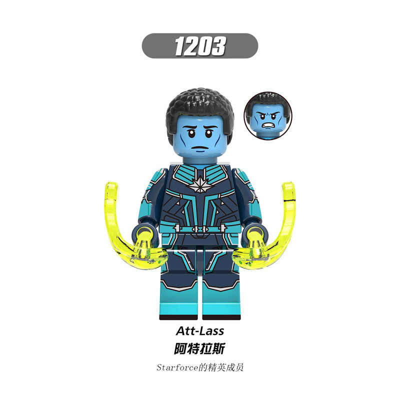 X0250 AvengersINGys Compatible with LegoING Marvel hero SHIELDing Director Inspector Phil Colsoning Starforceing child Building