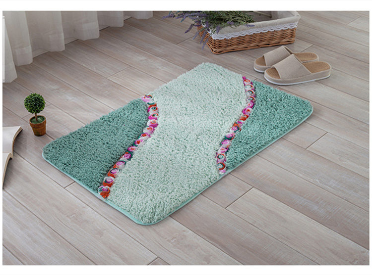 Tappeti Da Bagno Grandi : Modello di fiore di grandi dimensioni anti slip bagno zerbino