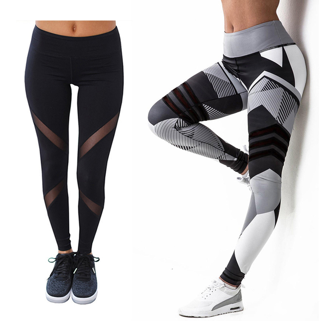 f2124f134c Sport Legging Women Yoga Pants,Breathable Quick Dry Running Fitness Sports  Tights,Elastic Waist Sports Leggings Trousers