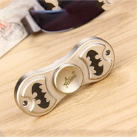 Do Dower EDC Finger Spinner Starss Hand Spinner Toy Metal Chromium Plated/Nickel Plated Focus Toy Stress Relief Spinner for ADHD