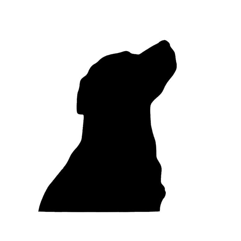 The More I Love My BLACK LABRADOR Dog Vinyl Car Van Sticker