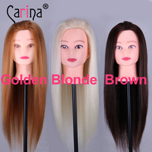 Professional 50cm Hairdressing Dolls Head Female Mannequin Styling Training Nice High Quality