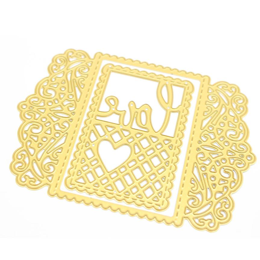 House Lc New Metal Cutting Dies Stencil DIY Scrapbooking Embossing Album Paper Card Craft C 17Sep05 Dropshipping
