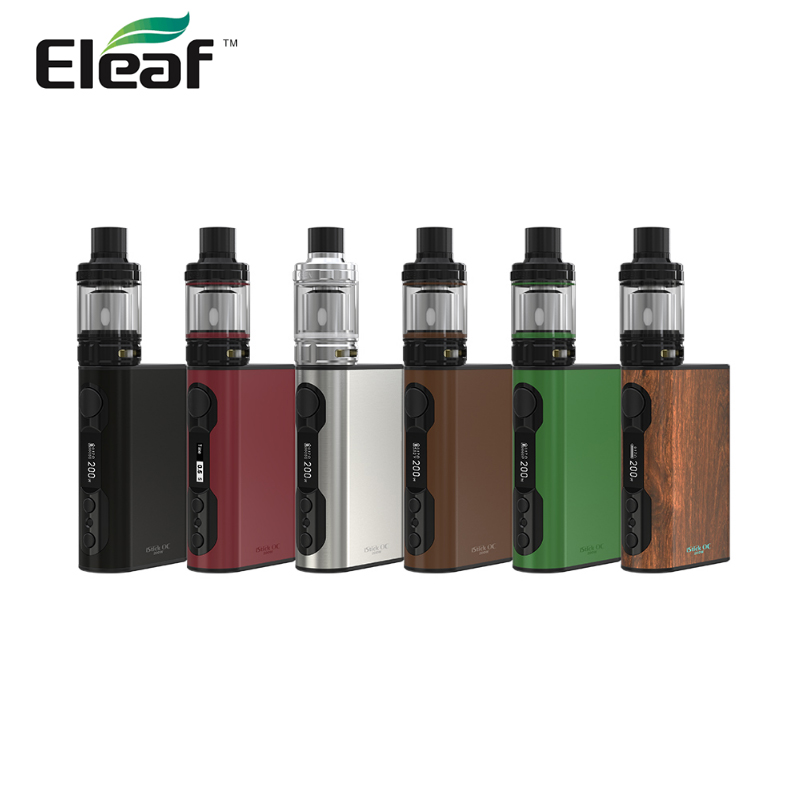 Electronic Cigarette Eleaf Istick QC 200W Kit Vape With Melo 300 Atomizer Built-in Battery 5000mAh Istick QC 200w Battery Mod стоимость