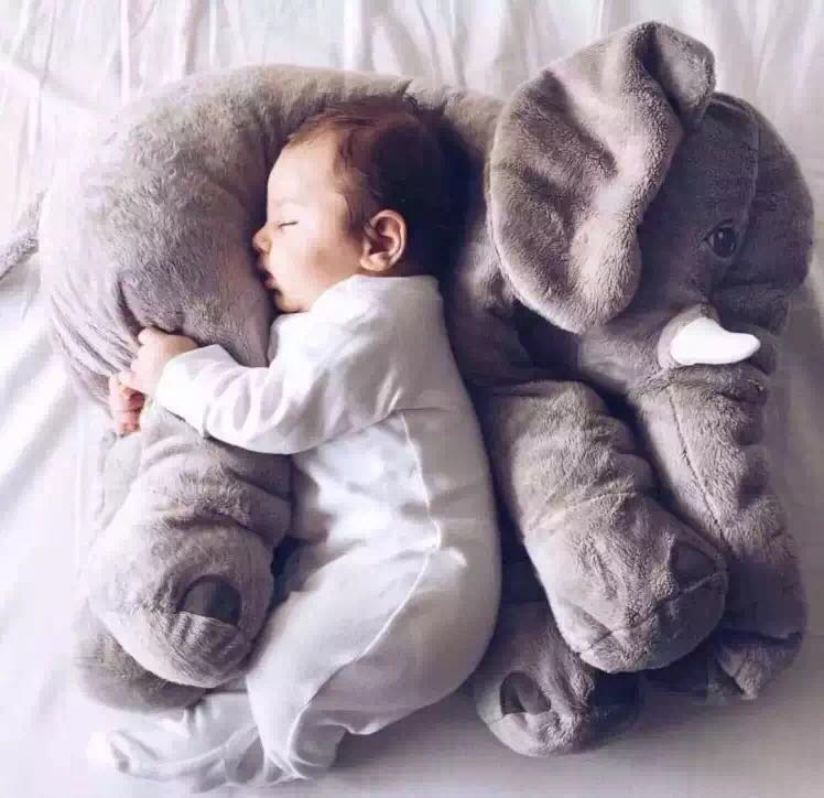 Кэндис Го! Новое поступление супер мило ins слон плюшевые игрушки детские мягкие Спящая кукла, игрушка подарок на день рождения 1 шт.
