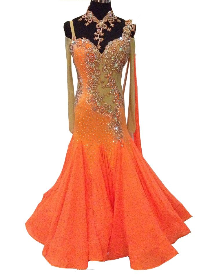 High Quality Waltz Tango dance Dress competitive Ballroom dance dress rhinestone ballroom dancing dresses ballroom dance