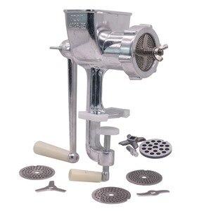 Image 1 - 1 tamanho manual 6/2. 5/2/1.5/1mm da tomada da máquina de processamento da alimentação do conjunto quatro lâminas pet bird hamster animais pequenos processamento da alimentação