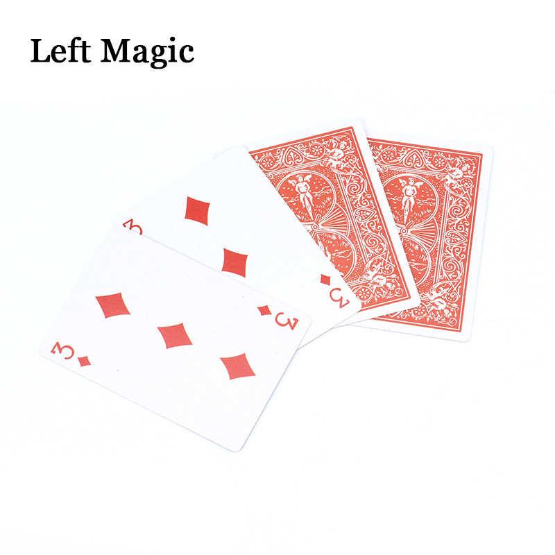 Король королевских карт Волшебные Трюки крупным планом уличный фокус профессиональные карточные фокусы реквизит для фокусов PropsToys аксессуары Комедия