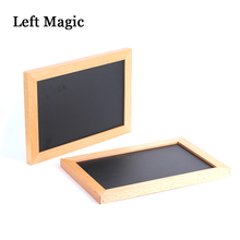 лучшая цена Spirit Slates - Magnetic (Ghost black board), Mentalism Magic Tricks,close up magic props,stage, street,comedy