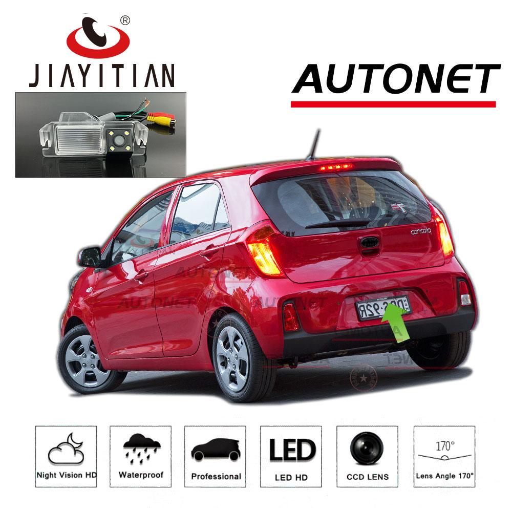 JiaYiTian For Kia Picanto For Kia Morning JA TA 2011~2019 Reverse Camera license plate camera CCD HD Night Vision Backup Camera
