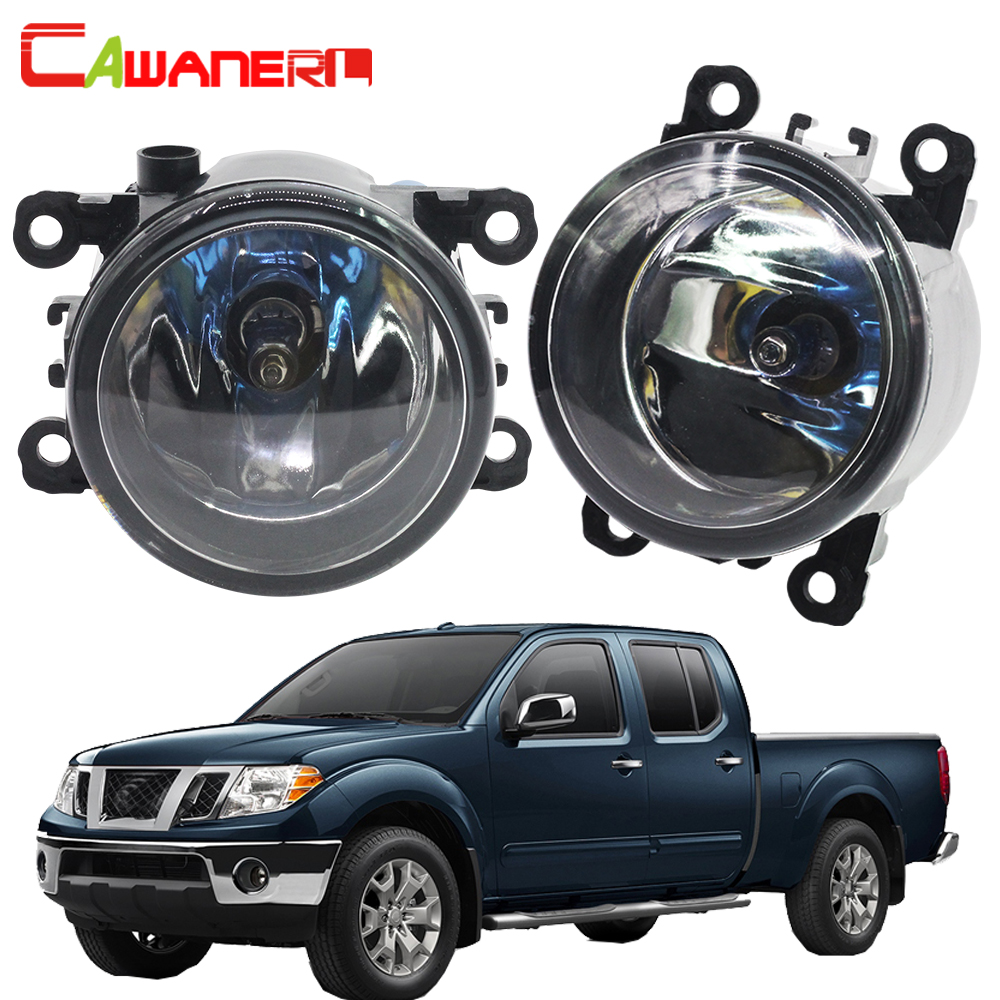 Cawanerl For Nissan Frontier 2005-2015 100W H11 Car Halogen Fog Light Daytime Running Lamp DRL 12V High Power 1 Pair for opel astra h gtc 2005 15 h11 wiring harness sockets wire connector switch 2 fog lights drl front bumper 5d lens led lamp