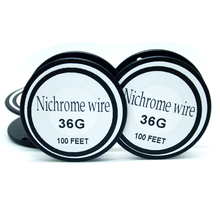 Nichrome wire 36 Gauge  100FT 0.1mm Cantal Resistance Resistor AWG   DIY atomizing core
